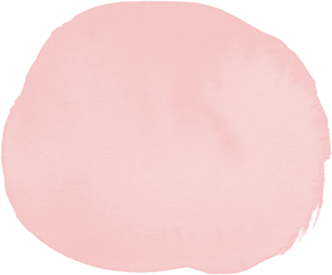blush pink watercolor circle element
