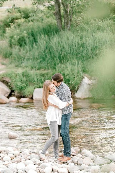 White mountains engagement session by K. Lenox Photography-3