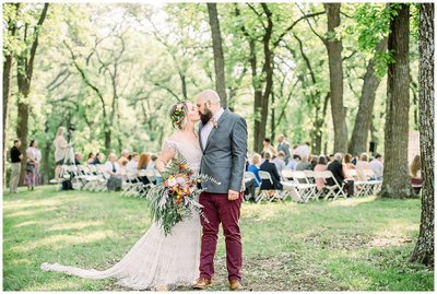 Iowa Boho Wedding