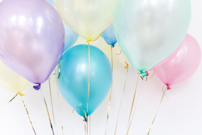 Canva - Colorful Pastel Balloons