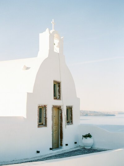 Small chapel in Santorini