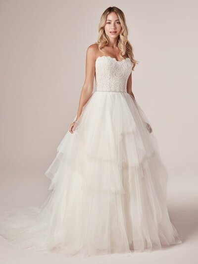 Princess Ball Gown Wedding Dress. In direct opposition to your office dress code, after-work loungewear, and gym-clothes uniform, we present this chic, dreamy, flirty, and featherlight princess ball gown wedding dress for your best night ever.