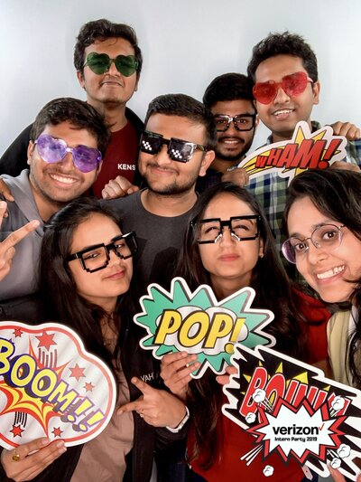 LOS GATOS DJ - Verizon Media Intern Welcome Party 2019 Photo Booth Photos (1 of 1) copy