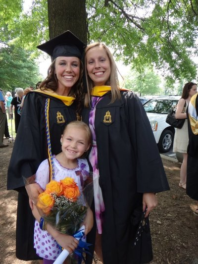 Jessica Wood's Graduation from Towson