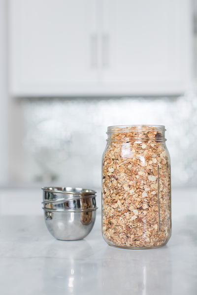 Simple Flexible Nutty Granola