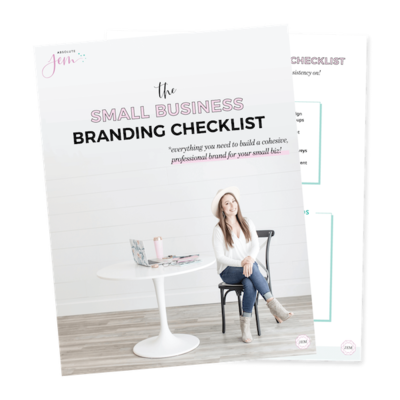 Absolute JEM | Free Download Branding Checklist for Small Businesses