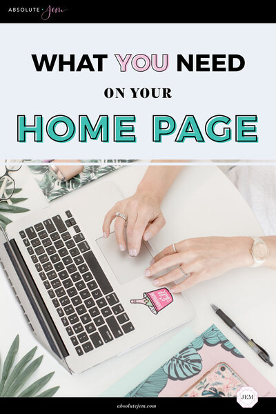 Absolute JEM Blog | What You Need On Your Home Page