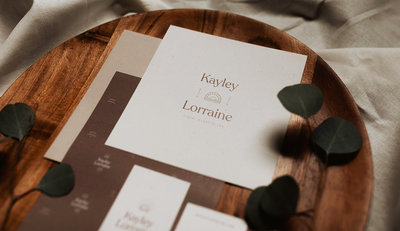 Kayley Lorraine, branding by Rhema Design Co.