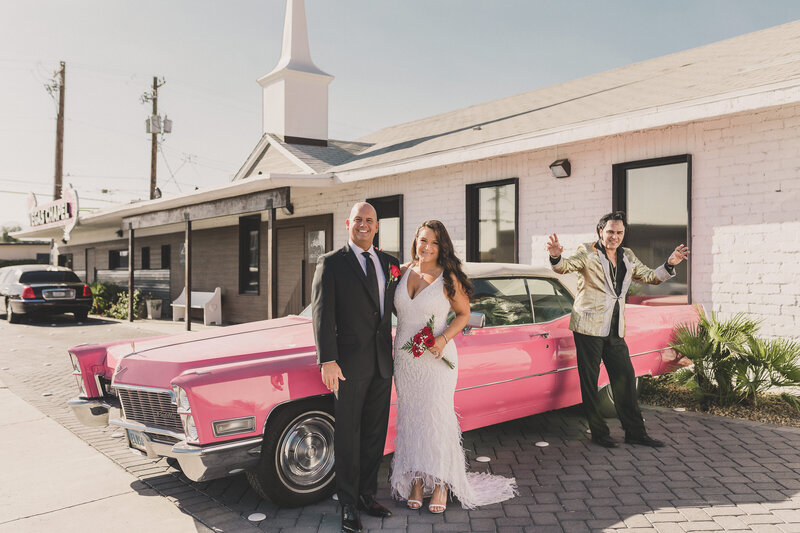 The Little Vegas Chapel Elopement with Elvis