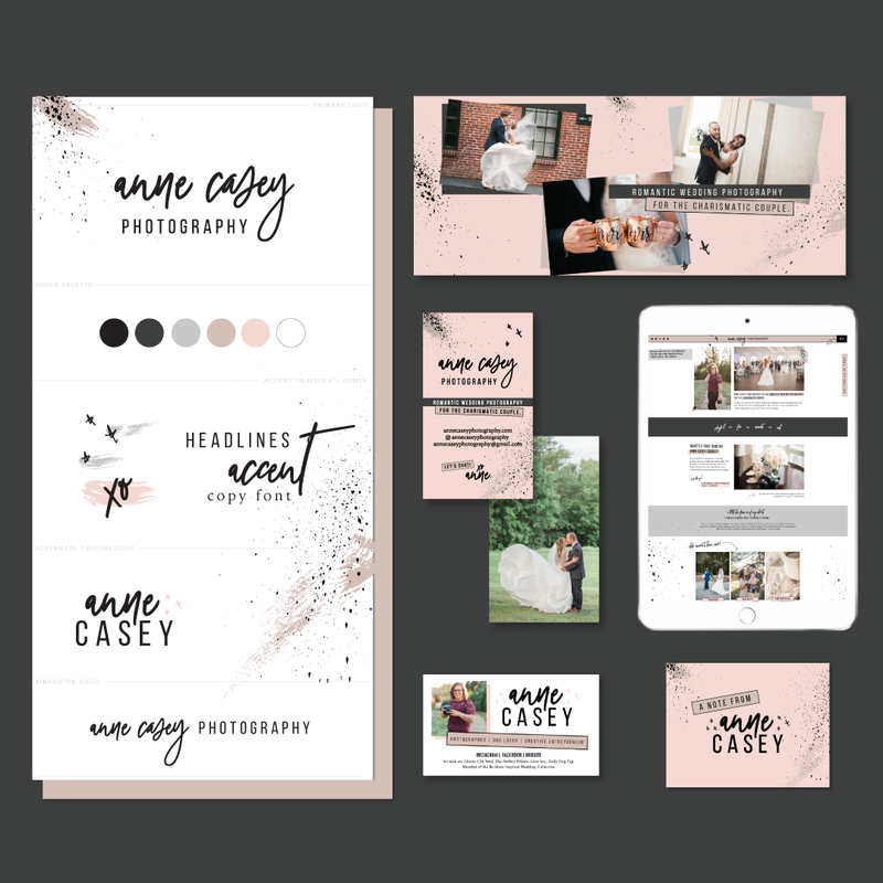 Brand and Showit Website Design for Anne Casey Photography