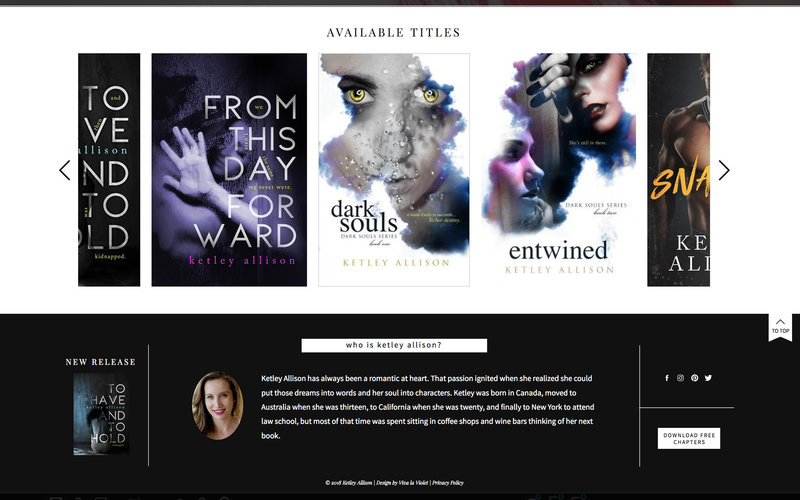 Handcrafting Heartfelt Brand & Website Designs for Female Creatives |  Showit | Showit Templates | by Viva la Violet | Ketley Allison