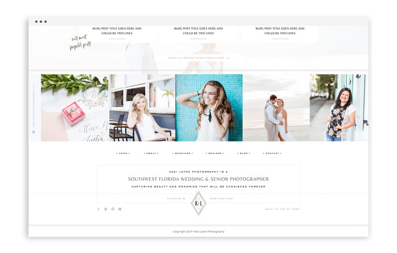 Kaci Layne Photography - Brand, Stationery, and Showit Web Design for Florida Photographer - With Grace and Gold - 23