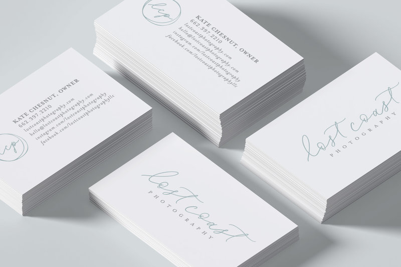 Lost-Coast-Photogrpahy--business-card-design-by-Sarah-B-Calligraphy