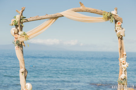 RUSTIC SEASIDE ARCH