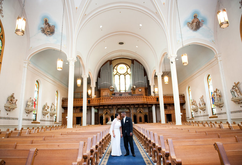 St Mary's Cathedral Fargo weddings by Kris Kandel (1)