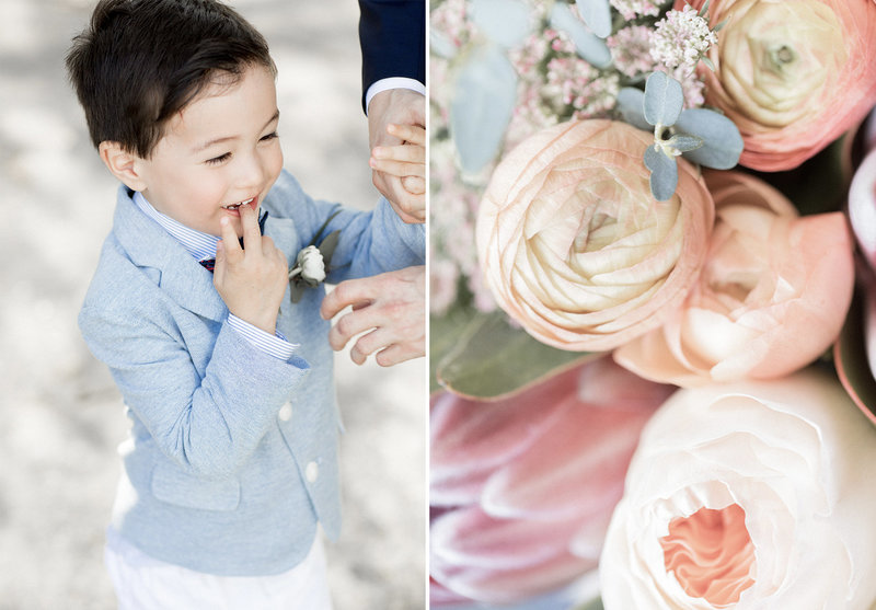 lumi wedding photography kiyomi and joey little one and pastel floral