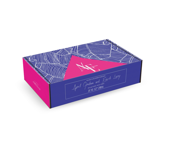 Boxes for Branding Wedding