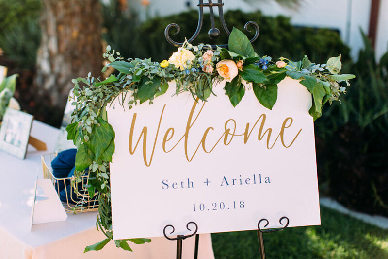 pirouettepaper.com | Wedding Stationery, Signage and Invitations | Pirouette Paper Company | Welcome + Unplugged Signs 17
