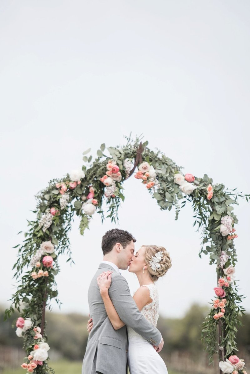 Whimsical Spring Wedding at Saltwater Farm in Stonington, CT