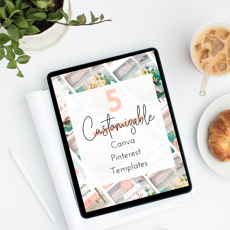 10 customizable Pinterest templates-2