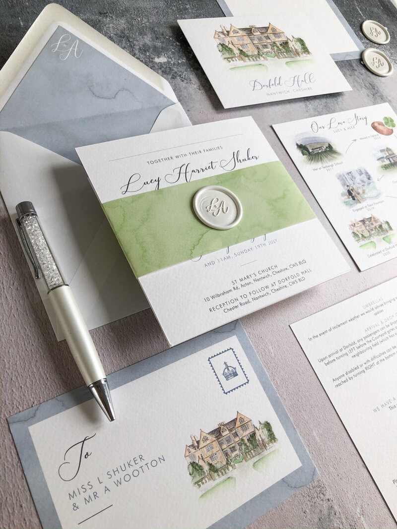 Wedding stationery at The Little Paper Shop_10