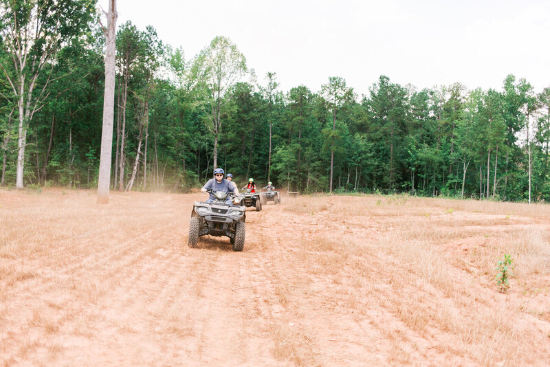Unique ATV riding experience with John Deere in Georgia