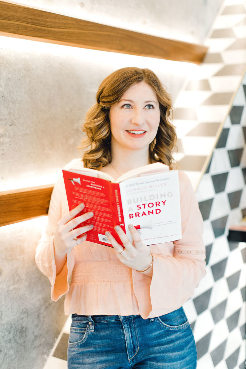 The Literary Co. Copywriting for Brand Entrepreneurs Kayla Dean Writing Power Story Brands Copy Words Writing11