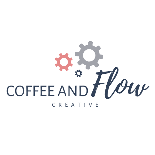 Coffee and Flow Creative_White Logo