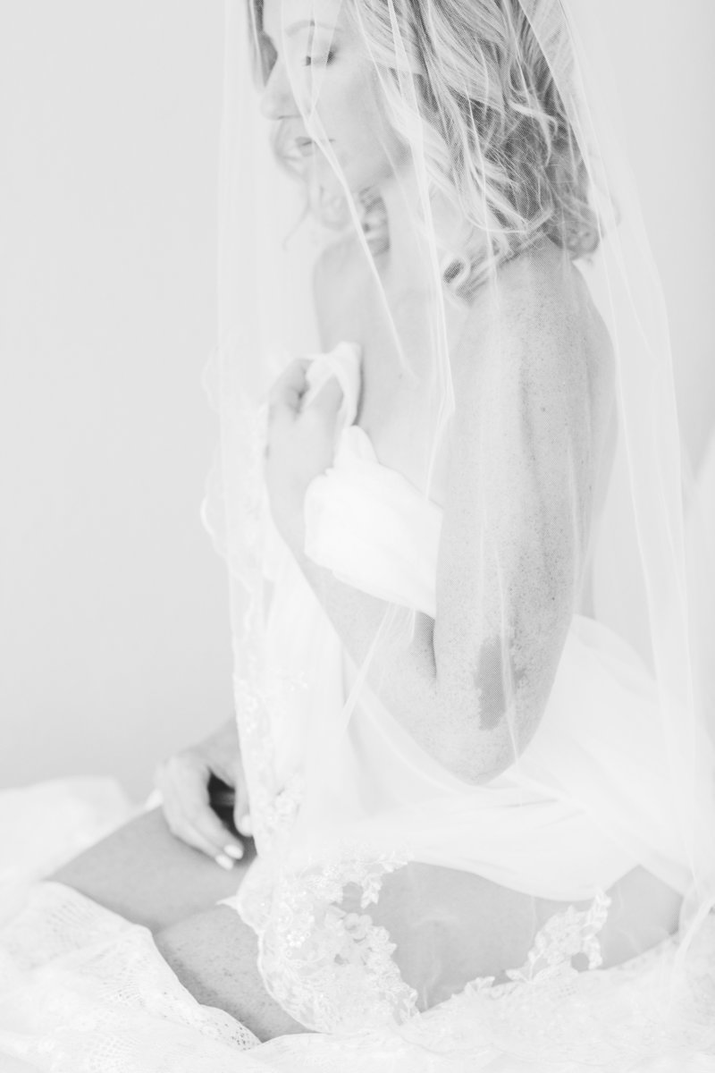 Virginia bridal boudoir photography