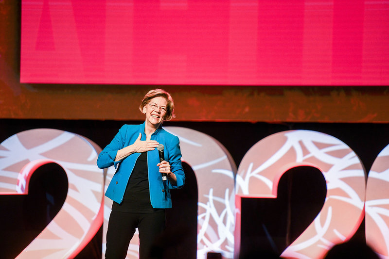Elizabeth Warren 2020 democratic presidential primary