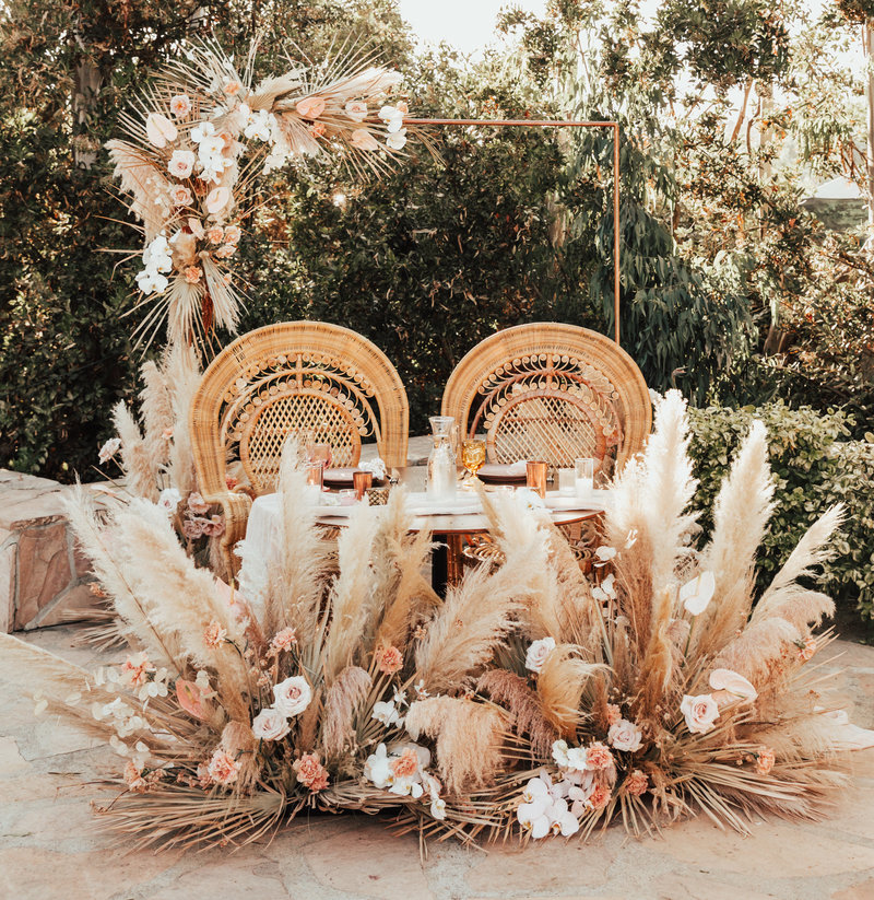 Bohemian San Diego wedding