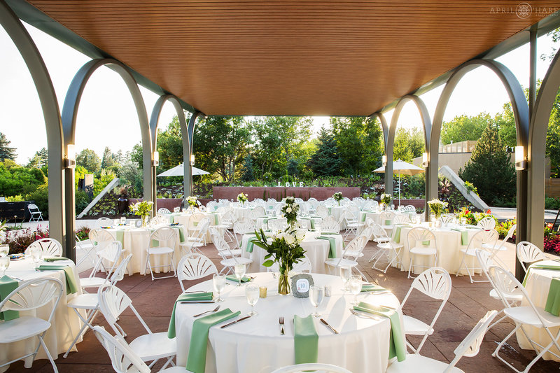 All America Selections Garden Outdoor Covered Wedding Reception