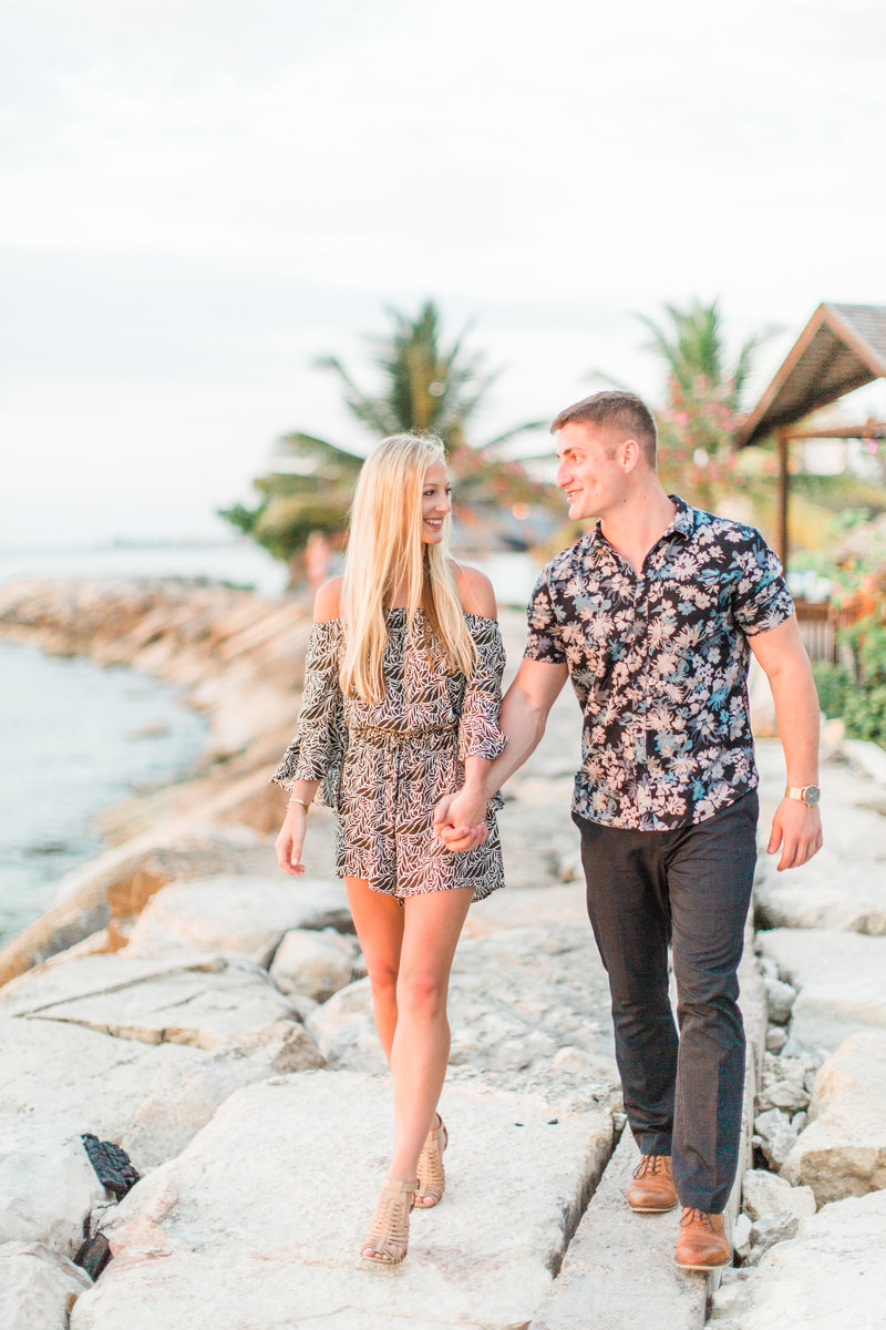 Jamaica Beach Engagement Session