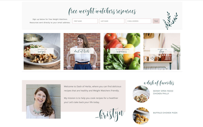 Handcrafting Heartfelt Brand & Website Designs for Female Creatives |  Showit | Showit Templates | by Viva la Violet | Dash of Herbs
