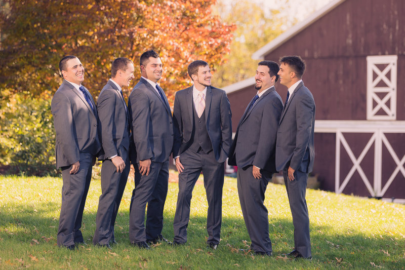 Groomsmen-Wedding-Laughing-Portrait-Sean-Thurston