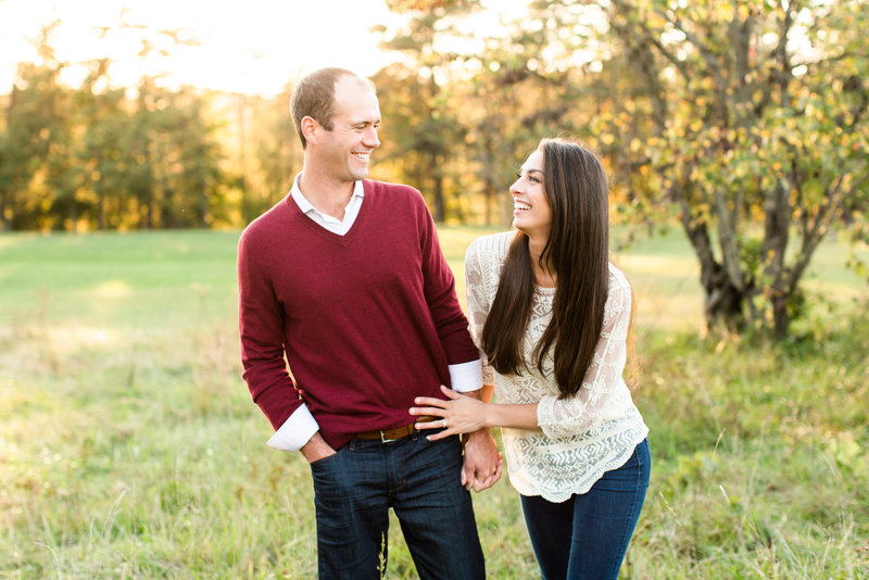 Sami and Brian Hoover Reservoir engagement