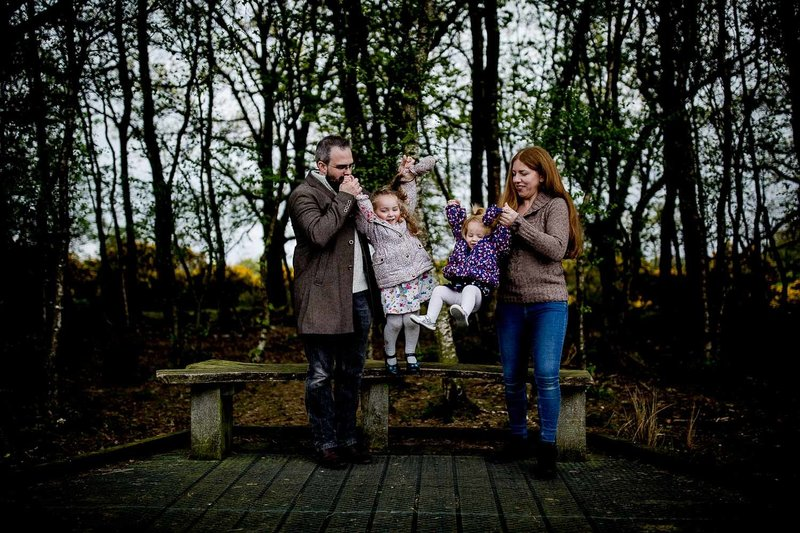 family photography around bristol