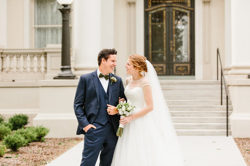 utah wedding couple review