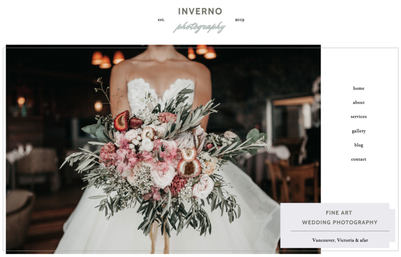 Inverno Showit Website Template