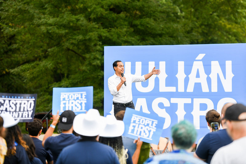 Julian Castro 2020 democratic primary