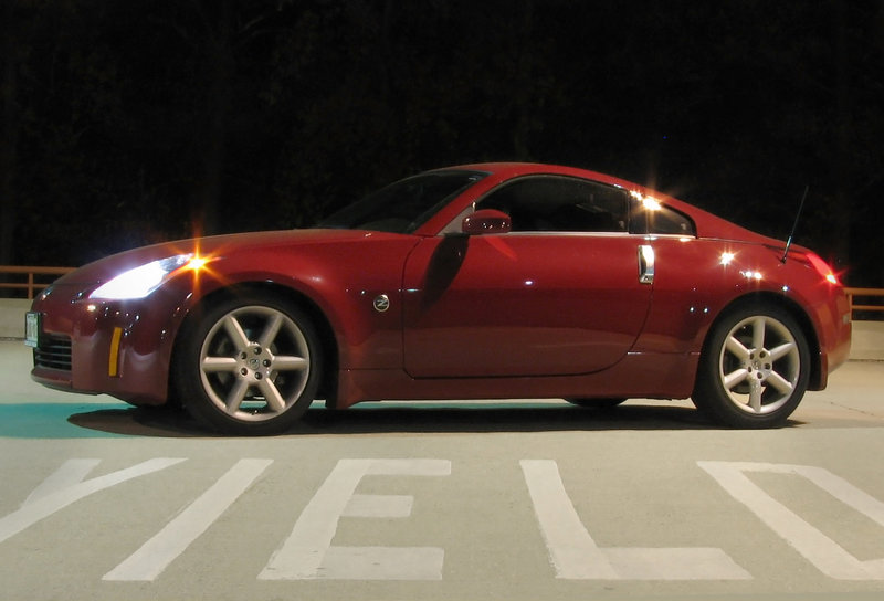 VA Wedding Photographer Loves Fast Cars Nissan 350Z