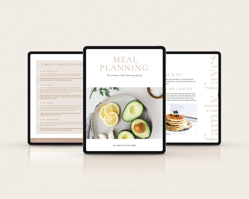 Save countless hours and hundreds of dollars with just 20 minutes of meal planning a week.
