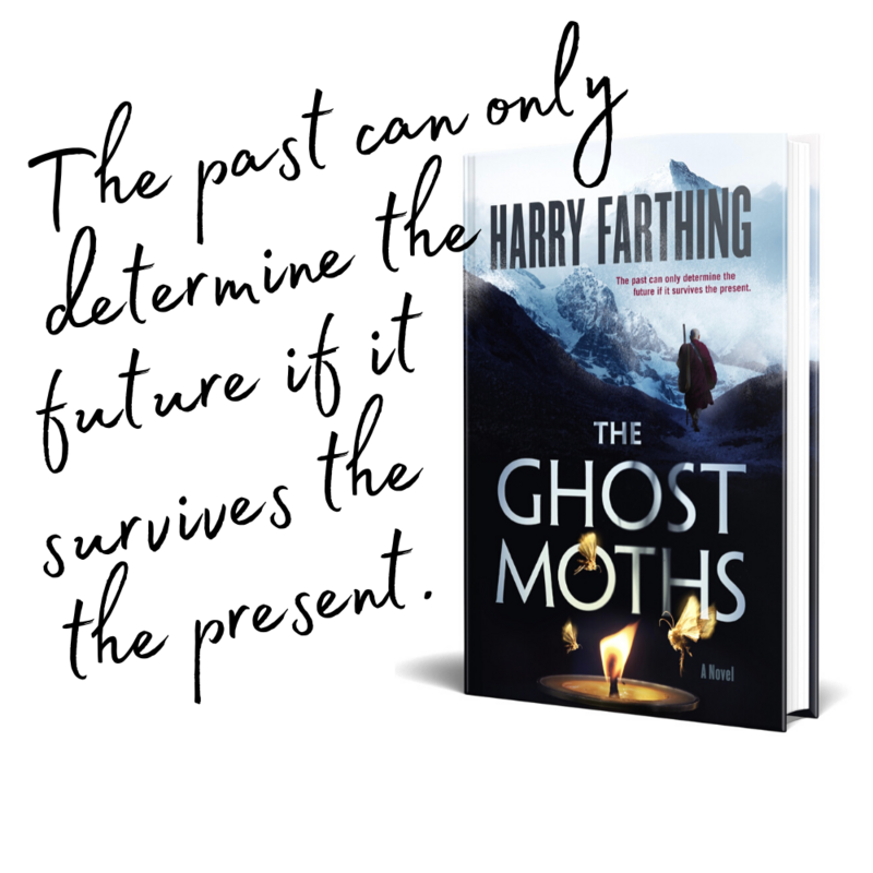 The Ghost Moths Quote on the book jacket