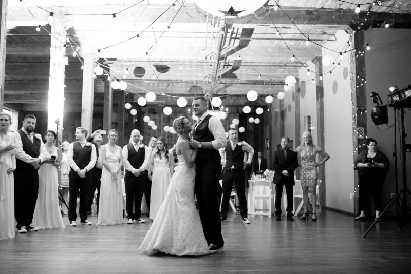 First Dance at McKinney Cotton Mill