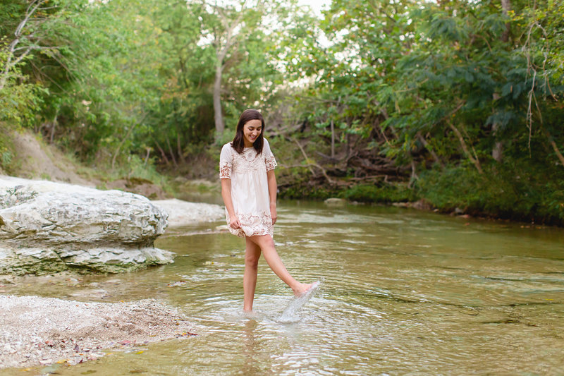 Erica Allen, TX Senior Portrait Photographer Review Pink Fly Photography Dallas, TX
