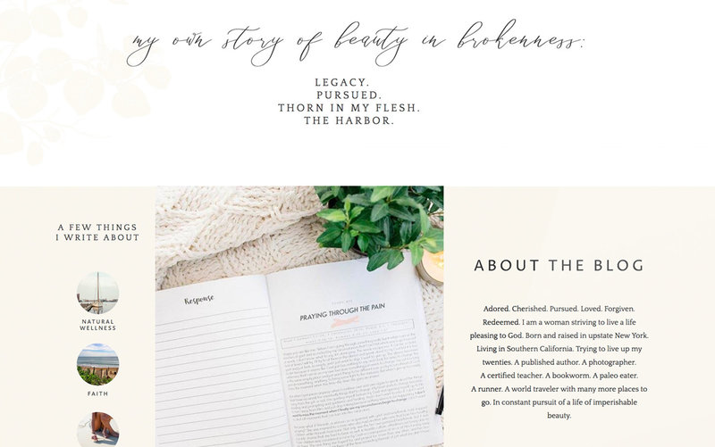 Handcrafting Heartfelt Websites + Branding for Female Creatives | by Viva la Violet |  Showit & Wordpress | Kelly Halsch
