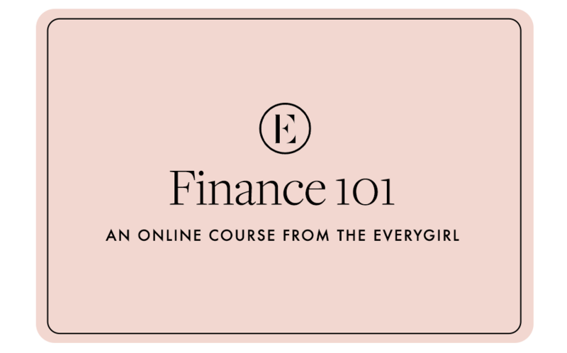 The Everygirl Courses Gift Card — Finance 101
