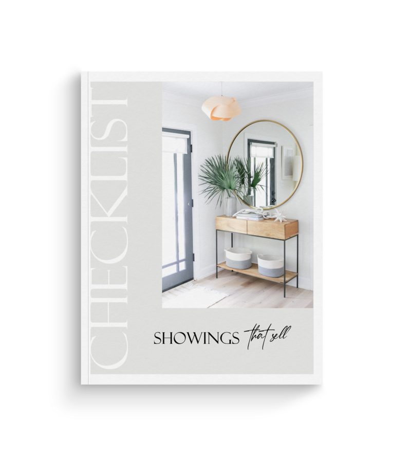 Freebie Magazine Mockup- Showings That Sell nChecklist