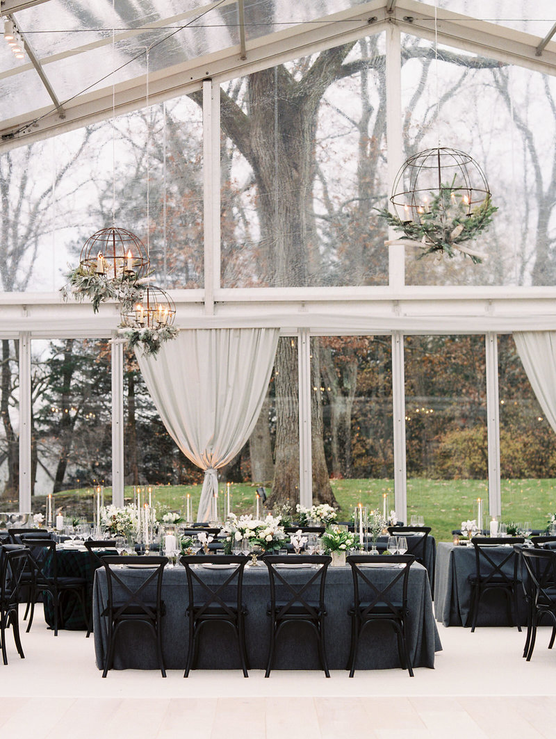 greenwich tented wedding at a private home