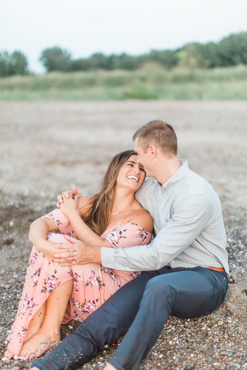 Mentor Headlands Beach Engagement
